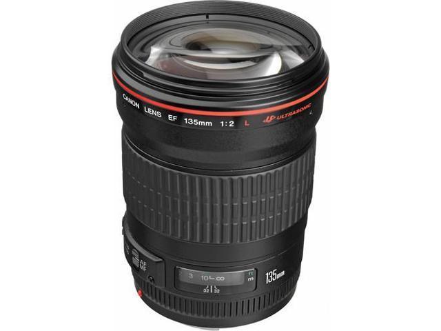 Canon EF 135mm f/2L USM Telephoto Lens (Bulk Packaging)