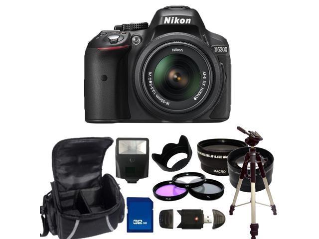 Nikon D5300 Digital SLR Camera With 18-55mm Lens Kit 2