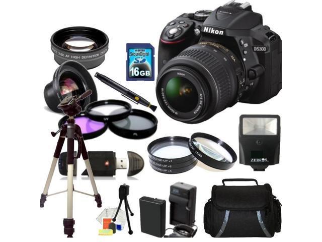 Nikon D5300 Digital SLR Camera With 18-55mm Lens Kit 3