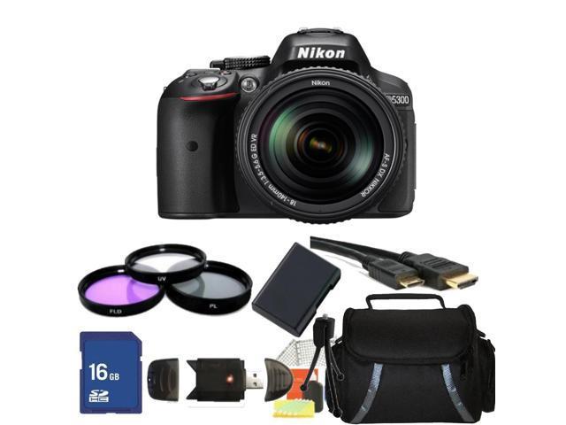 Nikon D5300 Digital SLR Camera With 18-140mm Lens Kit 1
