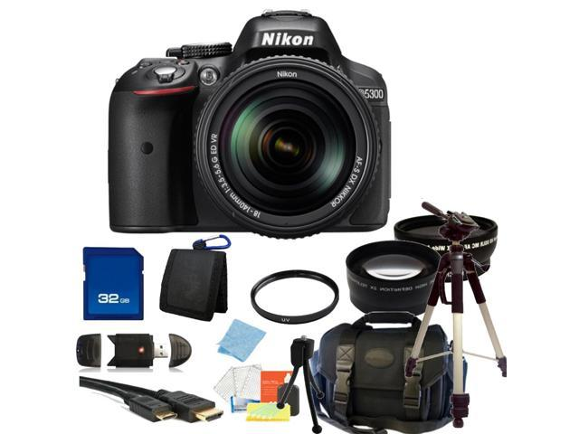 Nikon D5300 Digital SLR Camera With 18-140mm Lens Kit 5