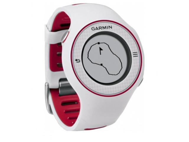 Garmin Approach S3 Golf GPS Watch. Color White Red Model 010-01049-10