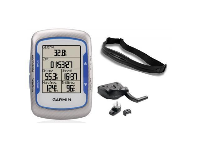GARMIN 010-00829-01 Edge 500 Cycling GPS with Speed/Cadence Sensor and Digital Heart Rate Monitor