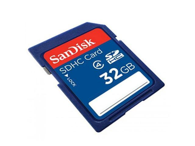 SanDisk 32GB SDHC Flash Memory Card Secure Digital High Capacity Model SDSDB-032G-B35