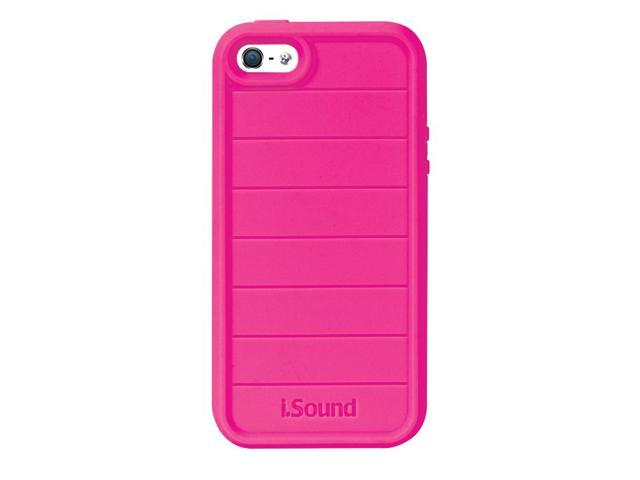 ISOUND Duraguard Durable Heavy Duty Silicone Case for iPhone 5 - Pink. Model ISOUND-5341