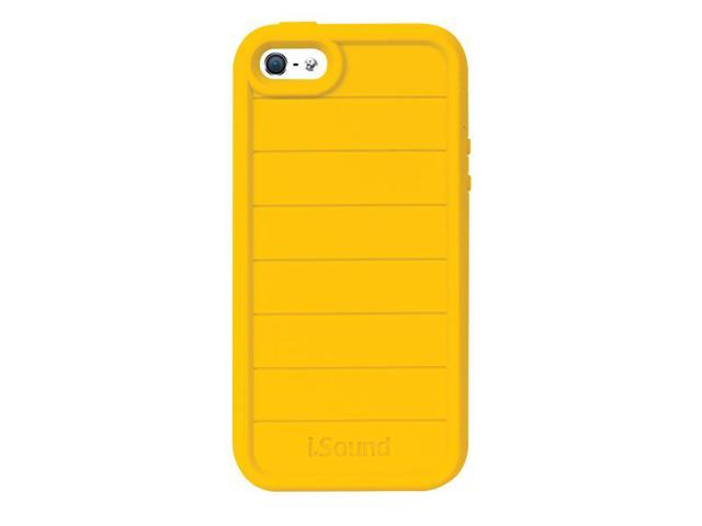 ISOUND Duraguard Durable Heavy Duty Silicone Case for iPhone 5 - Yellow Model ISOUND-5342