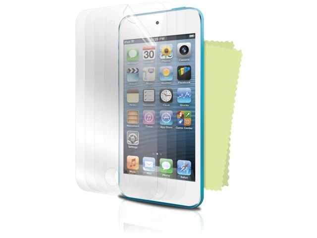 ISOUND Premium Protection Pack 4 Screen Protectors for iPod Touch 5th Gen - Clear. Model ISOUND-5320