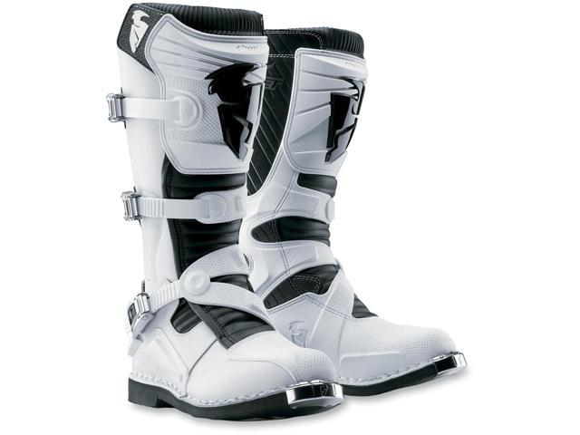 Thor Ratchet Boots White 8