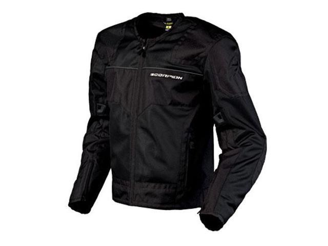 Scorpion Drafter Motorcycle Jacket Black Size Large