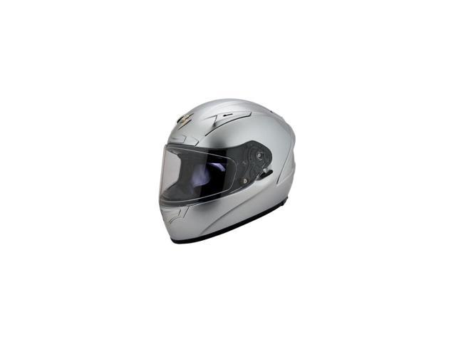 Scorpion EXO-R2000 Full Face Motorcycle Helmet Hypersilver Silver Size XX-Large