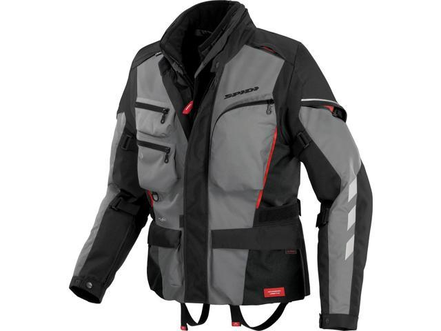 Spidi Sport S.R.L. Voyager 3 Motorcycle Jacket Gray X-Large
