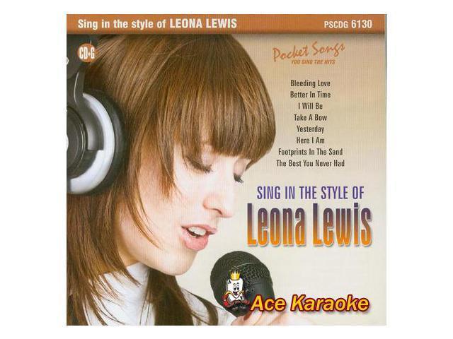 Pocket Songs Karaoke PSCDG #6130 - Sing In The Style Of Leona Lewis CDG