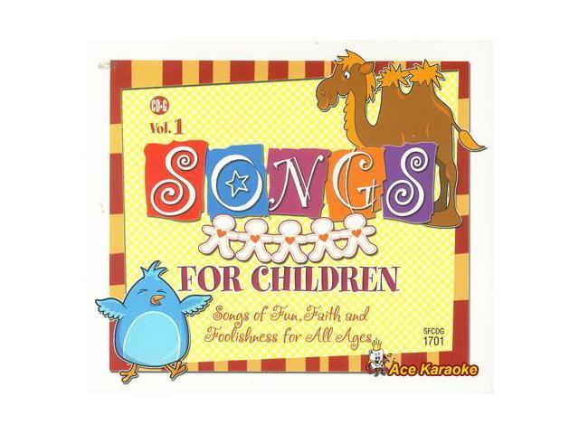 Pocket Songs CDG #1701EG - Songs For Children Vol. 1