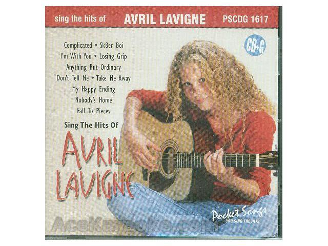 Pocket Songs Karaoke CDG #1617 - Sing The Hits of Avril Lavigne