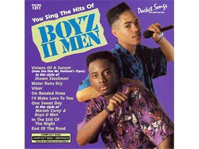 Pocket Songs Karaoke CDG #1211 - Boyz II Men