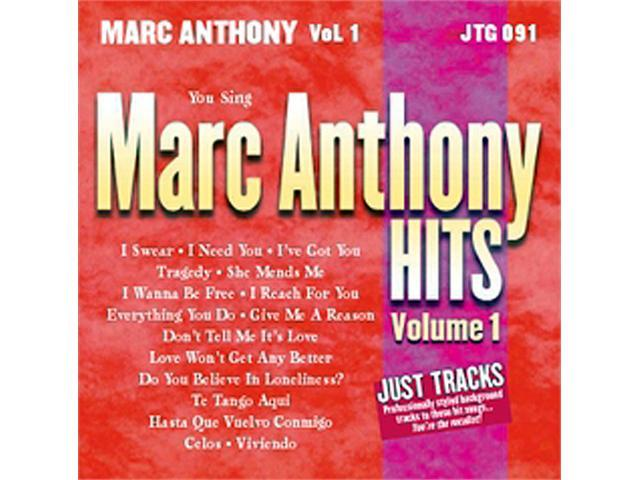 Pocket Songs Just Tracks Karaoke CDG JTG091 - MARC ANTHONY HITS! VOL. 1