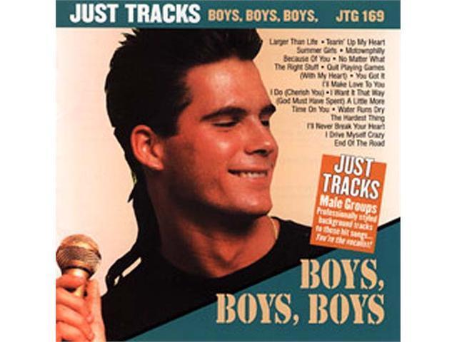 Pocket Songs Just Tracks Karaoke CDG JTG169 - BOYS, BOYS, BOYS (MALE GROUPS)