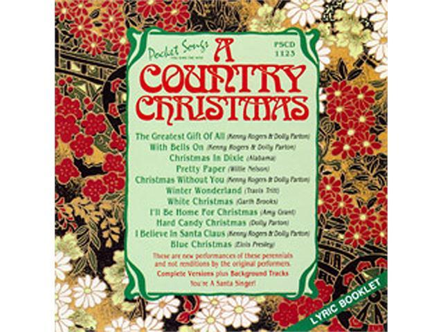 Pocket Songs Karaoke CDG PSCDG1123 - A Country Christmas