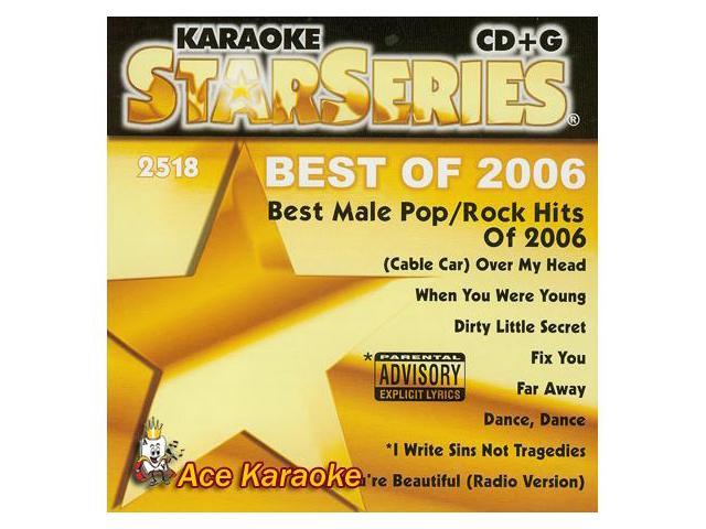 Sound Choice Star CDG  SC2518 - Best Male Pop/Rock Hits Of 2006