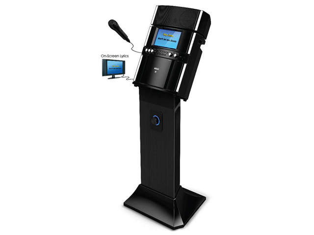 Akai KS-808 CDG Portable Pedestal System