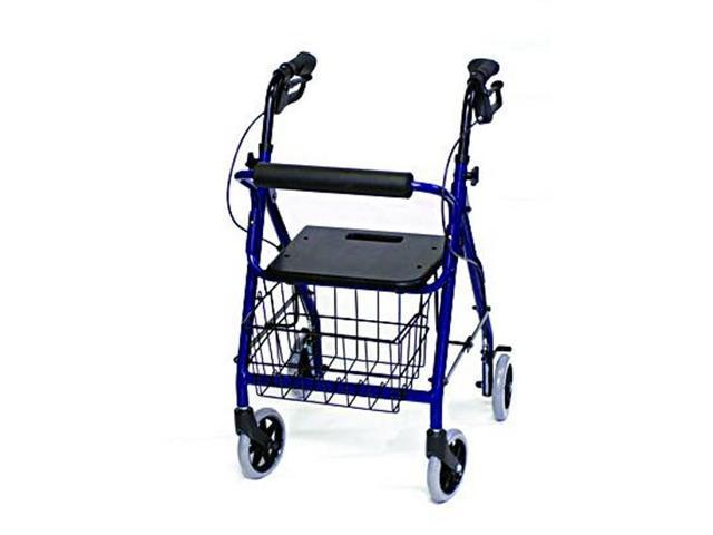 Invacare Junior Size Rollator w/ Loop Brakes & Basket