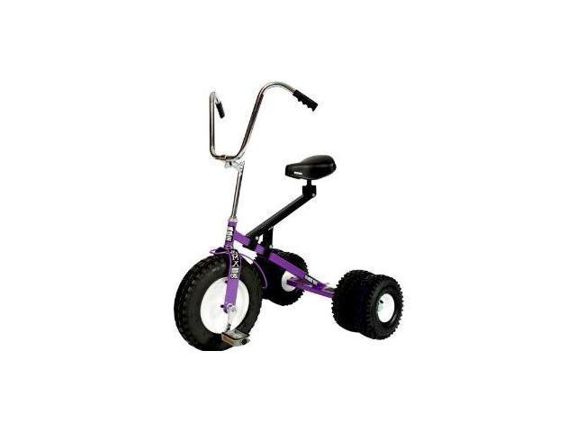Dirt King Big Kid Dually Tricycle Trike PURPLE DK-252B-PR