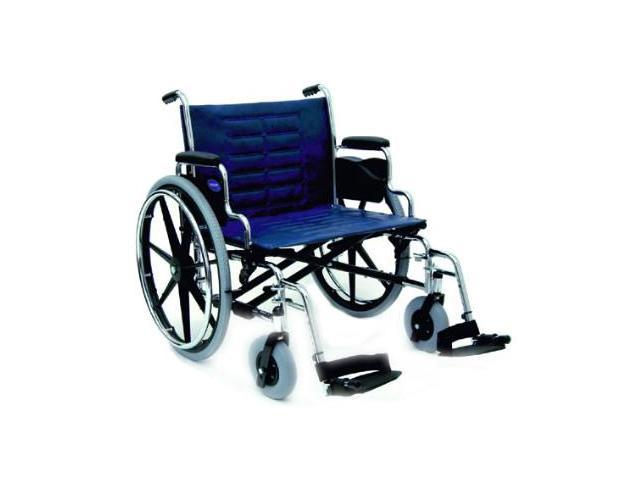 """XL Large Wide Invacare Folding Bariatric Wheelchair 24""""9153639571"""