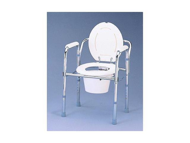 Nova Folding Bedside Commode Chair Toilet Seat Portable