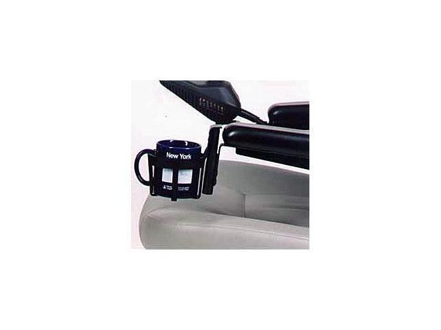 Power Wheelchair Cup Holder Drink Beverage Hook Clamp