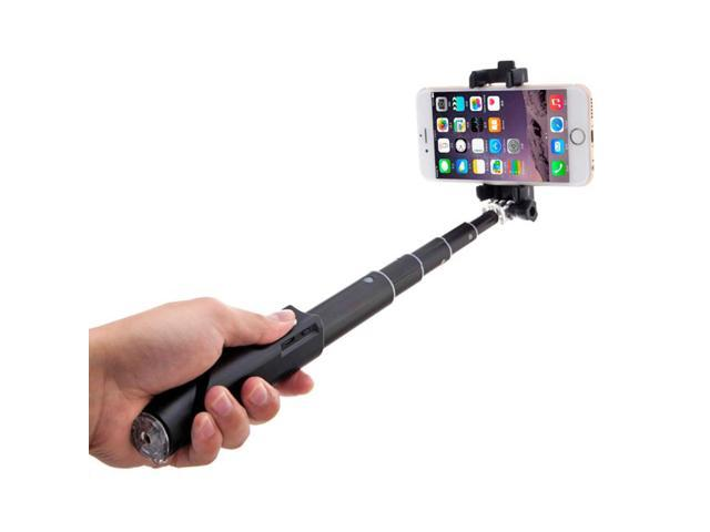 minisuit compact foldable selfie stick with built in remote for apple a. Black Bedroom Furniture Sets. Home Design Ideas