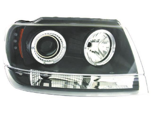 IPCW CWS-5002B2 Jeep Grand Cherokee 1999 - 2004 Head Lamps, Projector Black