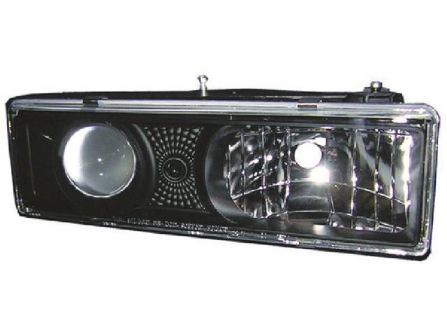 IPCW Projector Headlight CWS-303B2 92-99 Chevrolet Blazer (Fullsize) 92-99 Chevrolet Chevy PU 92-99 GMC GMC Truck 92-99 Chevrolet Suburban / Tahoe 92-99 GMC Suburban / Yukon / XL Black