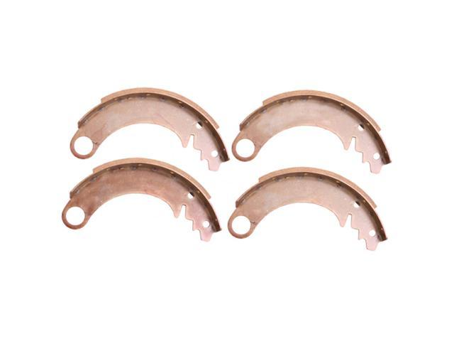 Omix-ada This set of 9-inch brake shoes from Omix-ADA fits 41-45 Willys MB, 46-49 Willys CJ-2A, and 49-53 Willys CJ-3A. Fit front or rear axles. 16726.01