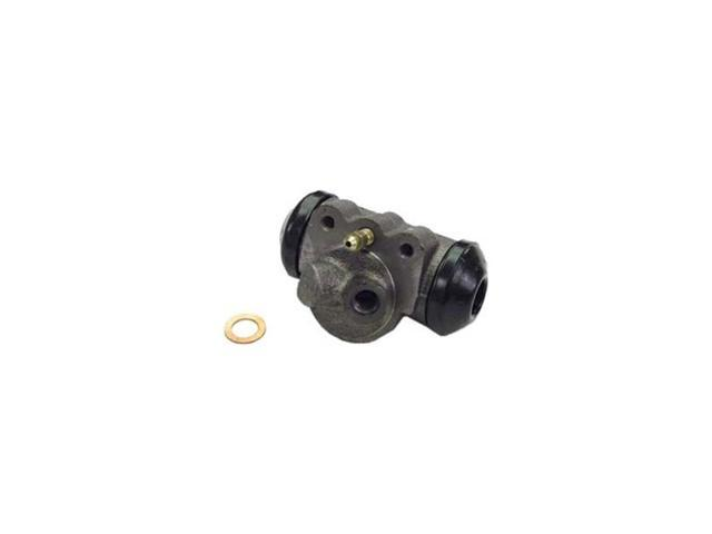 Omix-ada Wheel Cylinder (Front), With Angled Hose Connection, RH, 1963-1967 CJ3B, 1963-1966 CJ5, 1963-1966 CJ6 16722.06
