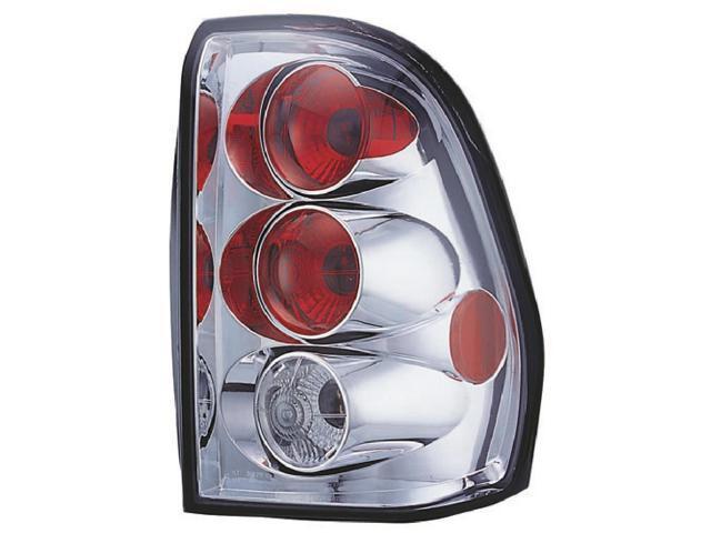 IPCW Tail Lamp CWT-345C2 02-09 Chevrolet Trailblazer Crystal Clear
