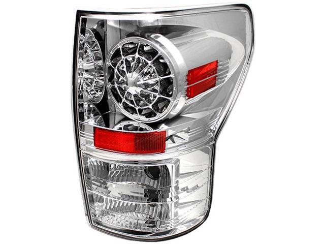 IPCW LEDT-2037C2 Toyota Tundra 2007 - 2013 Tail Lamps, LED Crystal Clear