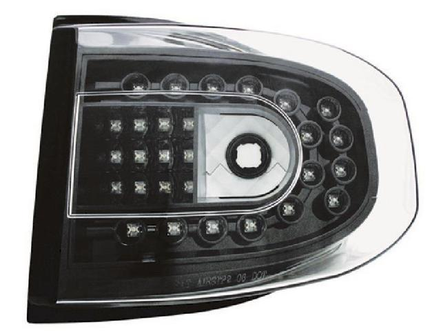 IPCW LEDT-2038CB Toyota Fj Cruiser 2007 - 2011 Tail Lamps, LED Bermuda Black