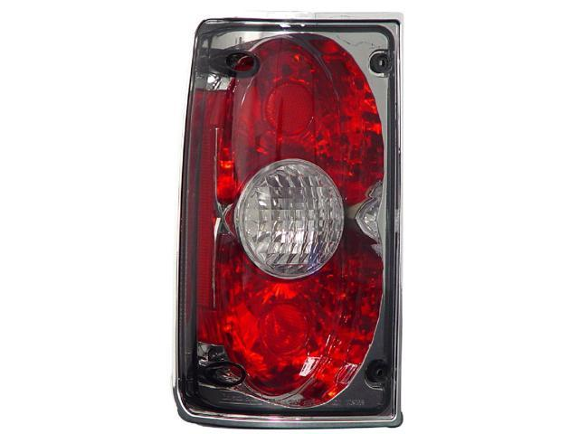 IPCW CWT-CE2009CS Toyota Toyota Pu 2, 4Wd 1989 - 1995 Tail Lamps, Crystal Eyes Platinum Smoke