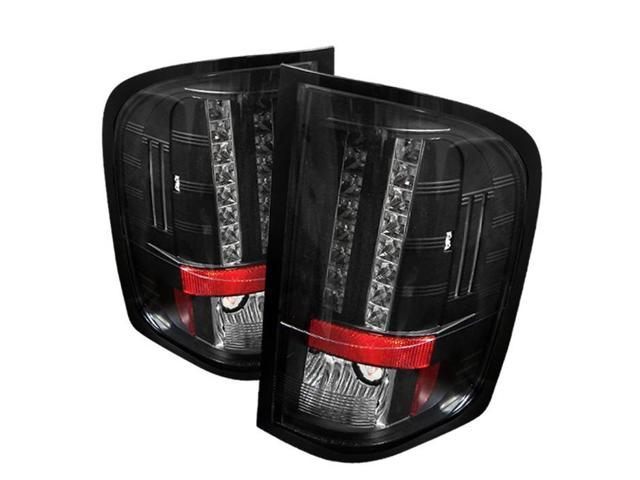 chevy silverado 1500 2500 3500 2007 2009 led tail lights. Black Bedroom Furniture Sets. Home Design Ideas