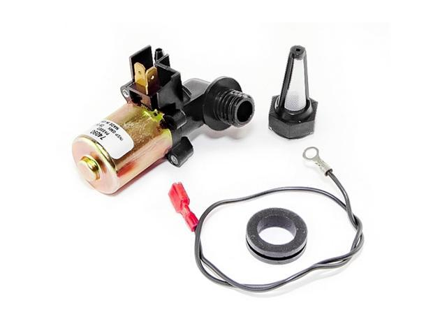 Omix-ada This replacement windshield washer pump kit from Omix-ADA includes the pump and filter. Fits 72-86 Jeep CJ and SJ models. 19108.03
