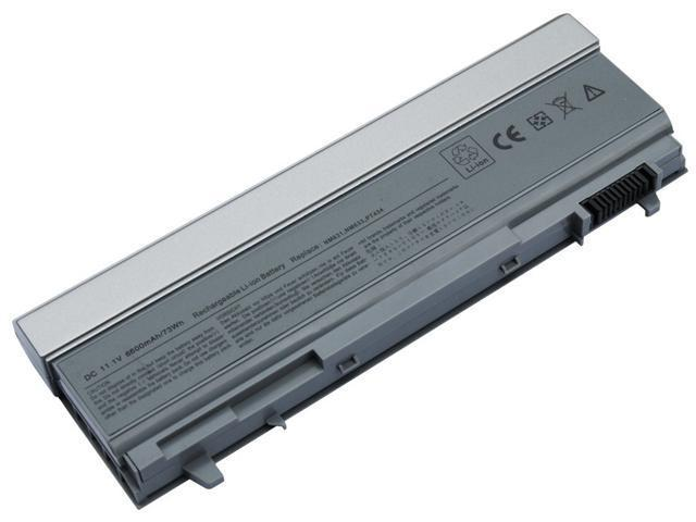 AGPtek®  Notebook Battery Replacement for DELL Latitude E6400ATG E6410 ATG E6500 E6510 M2400  fits PT434, PT435, PT436, PT437, KY477 - [9cell, 11.1V, 6600mAh]   aftermarket