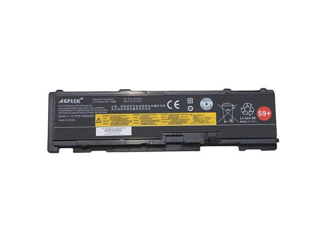AGPtek® Laptop Battery Replacement for Lenovo ThinkPad T400s T410s T410si Battery fits 51J0497 42T4690 42T4691 42T4688 42T4689 ...