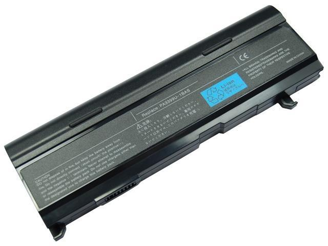 Laptop/Notebook Battery Replacement for TOSHIBA Dynabook CX/45A, Equium A100-027, Equium M50-164, Satellite A100-151 A80-116 ...