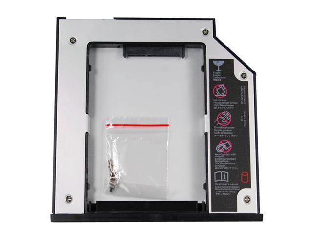 Universal Sata to Sata 2ND HDD Hard Drive Adapter/Caddy w/ Screws for DELL Latitude E6400 E6500 E6410 E6510 E4300 E4310, DELL Precision M2400 M4400 M4500