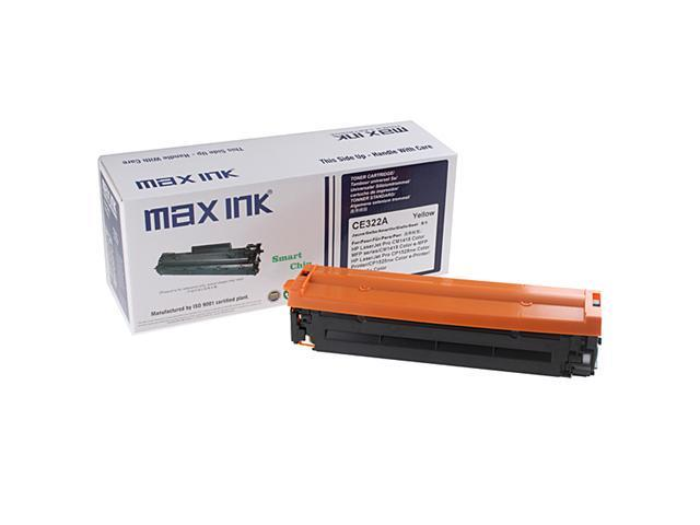 Max Ink Toner Print Cartridge for HP CE322A Compatible for HP LaserJet Pro CM1415fn/1415fnw