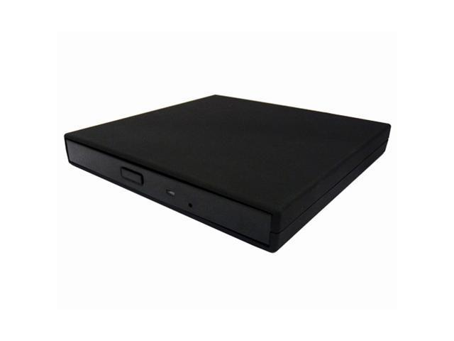 External Portable USB 24x CD-ROM Black Drive for Laptop Desktop PC