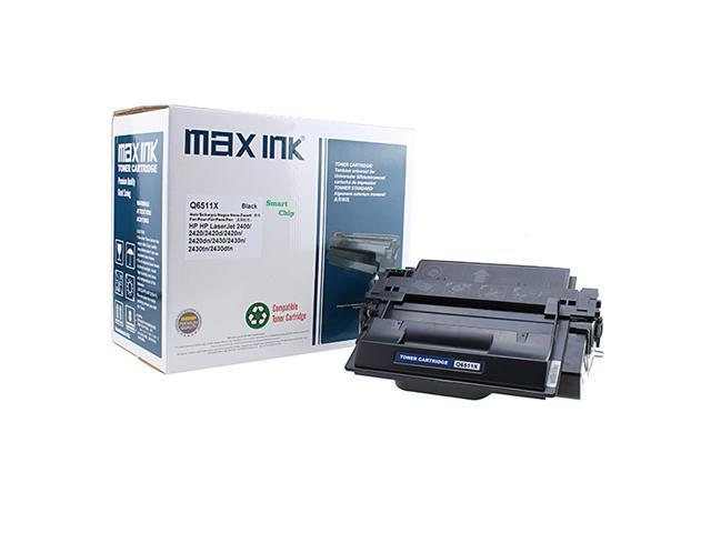 Max Ink Toner Print Cartridge for HP Q6511X Compatible for HP LaserJet 2400/2410/2420/2420d/2420n/2420dn/2430/2430n/2430tn/2430dtn