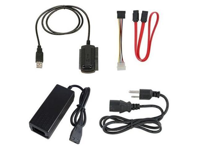 "New HDD Converter Cable USB 2.0 to SATA IDE For 2.5"" 3.5"" Hard Drive"