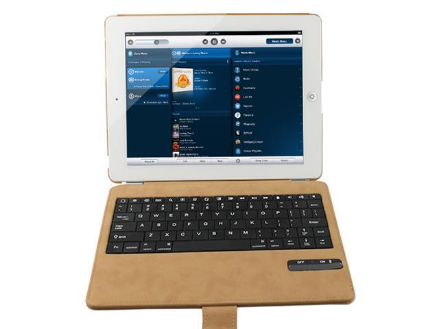 Ultra Thin Smart Cover Bluetooth Keyboard for Apple iPad 4, The New iPad/ iPad 3