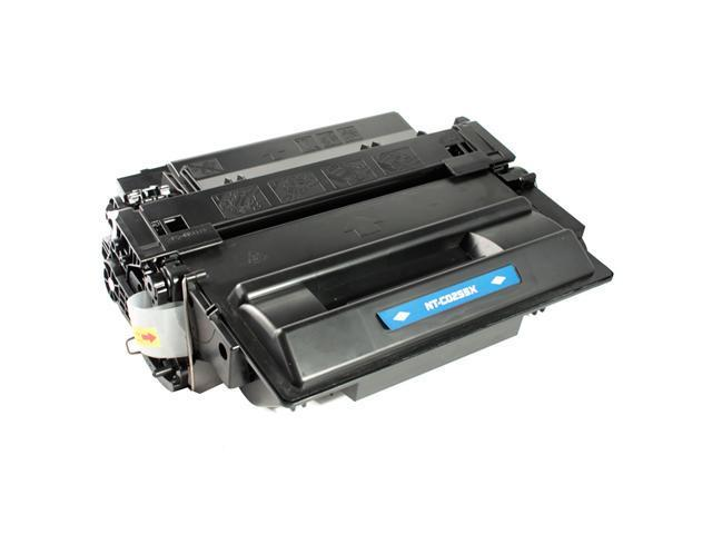 Compatible HP CE255X (HP 55X) Laser Toner Cartridge for LaserJet P3015, P3010 Series; LaserJet Enterprise flow MFP M525c, 500 MFP M525dn/ M525f - High Yield, Black